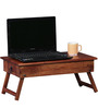 Oakville Low Height Solid Wood Study Table in Provincial Teak Finish by Woodsworth