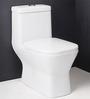 Curo S Trap Ceramic Water Closet (Model No: CURO-7019-9-White)