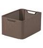 Curver 3616 Plastic Brown Large Storage Box