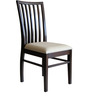 Curvy Slatts Chair in Brown Colour by RYC Furniture