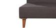 Darwin Sofa cum Bed in Dark Brown Colour by Forzza