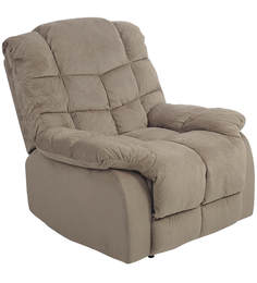 Daffodil One Seater Recliner in Beige Colour by Royal Oak