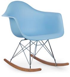 Daytona Beach Club Rocking Chair in Robin Blue Colour by HomeHQ
