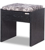 Daffodil Stool in Wenge Finish by Godrej Interio