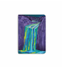 DailyObjects Multicolour Paper Purple Mountains Waterfall Plain A5 Notebook