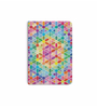 DailyObjects Multicolour Paper Rainbow Honeycomb with Stars Plain A5 Notebook