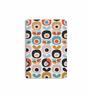 DailyObjects Multicolour Paper Retro Blossom Plain A6 Notebook