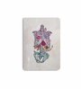 DailyObjects Multicolour Paper Rib Cage Plain A6 Notebook