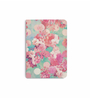 DailyObjects Multicolour Paper Romantic Pink Retro Floral Pattern Teal Polka Dots Plain A5 Notebook