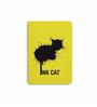 DailyObjects Multicolour Paper Rorschach Cat Plain A6 Notebook