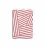 DailyObjects Multicolour Paper Rose Stripes Plain A6 Notebook