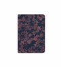 DailyObjects Multicolour Paper Rusted Flowers Plain A5 Notebook