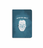 DailyObjects Multicolour Paper Saul Plain A6 Notebook