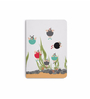 DailyObjects Multicolour Paper Snorklers in A Tank Seabed Plain A6 Notebook