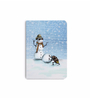 DailyObjects Multicolour Paper Snowman Plain A5 Notebook