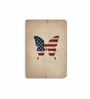 DailyObjects Multicolour Paper Stars & Stripes Plain A6 Notebook