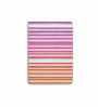 DailyObjects Multicolour Paper Stripes Pink Plain A5 Notebook