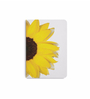 DailyObjects Multicolour Paper Sunflower White Plain A6 Notebook