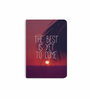 DailyObjects Multicolour Paper Sunset The Best Is Yet to Come Plain A6 Notebook