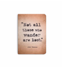 DailyObjects Multicolour Paper Tolkien Plain A5 Notebook