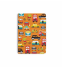 DailyObjects Multicolour Paper Traffic Jam Plain A6 Notebook