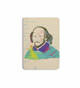 DailyObjects Multicolour Paper Typographic Shakespeare Plain A6 Notebook