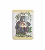 DailyObjects Multicolour Paper Vibrant Jungle Gorilla & Cate Plain A5 Notebook
