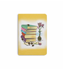 DailyObjects Multicolour Paper Vintage Books Plain A5 Notebook