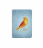 DailyObjects Multicolour Paper Wild Canary Plain A5 Notebook