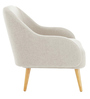 Dairlia Accent Chair in White Colour by Madesos