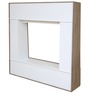 Daisy Wall Entertainment Unit in Light Oak & White Colour by HomeTown