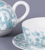 Dandy Lines Floral Tea for One Bone China Tea Set