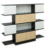 Daze Display Unit in Golden Finish by Gravity