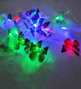 Dazzled Downward Multicolour 20 Bulbs Butterfly String Light