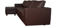 Devise Modular RHS Lounger Sofa in Brown Colour by Elegant Furniture