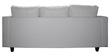 Devise Modular RHS Lounger Sofa in White Colour by Elegant Furniture