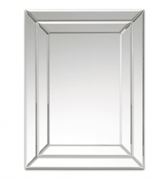 Deknudt Decora Silver Rectangular Mirror