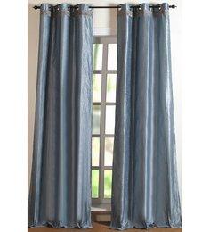 Deco Essential Hungama Gimp Lustrs Steel 7Ft Door Curtain - Set of 2
