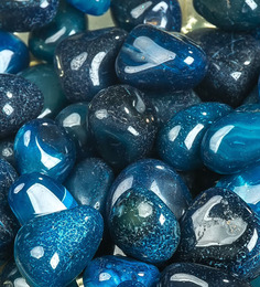 Decor Pebbles Indigo Stones Pebbles - 1 Bag