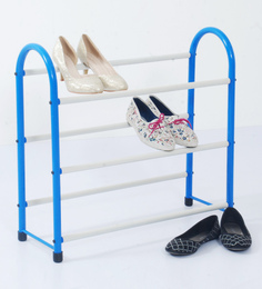 Deneb Iron 3 Tier Inclined Shoe Rack