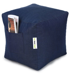 Denim Puffy Cover without Beans in Blue Colour by Can