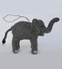De Kulture Works Multicolour Felt Hanging Felt Elephant Showpiece