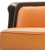 Dean Low Back Chair in Tan Colour by Durian