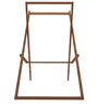 Deck Folding Rubber Wood Chair by SmalShop