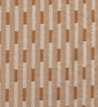 Deco Essential Brown & Beige Polyester 46 x 90 Inch Jacquard Eyelet Door Curtain - Set of 2