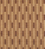 Deco Essential Mud Brown Polyester 46 x 90 Inch Jacquard Eyelet Door Curtain - Set of 2
