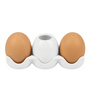 Deco Pride Oval Egg Salt & Pepper Shaker - Set of 4