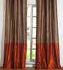 Deco Window Multicolour Polyester 42 x 84 Inch Door Curtain - Set of 2