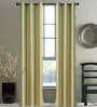 Deco Window Sea Foam Polyester 46 x 90 Inch Door Curtain - Set of 2