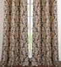Deco Window Wine Polyester 46 x 90 Inch Door Curtain - Set of 2